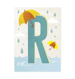 Monimari Letter R