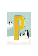 Monimari Letter P