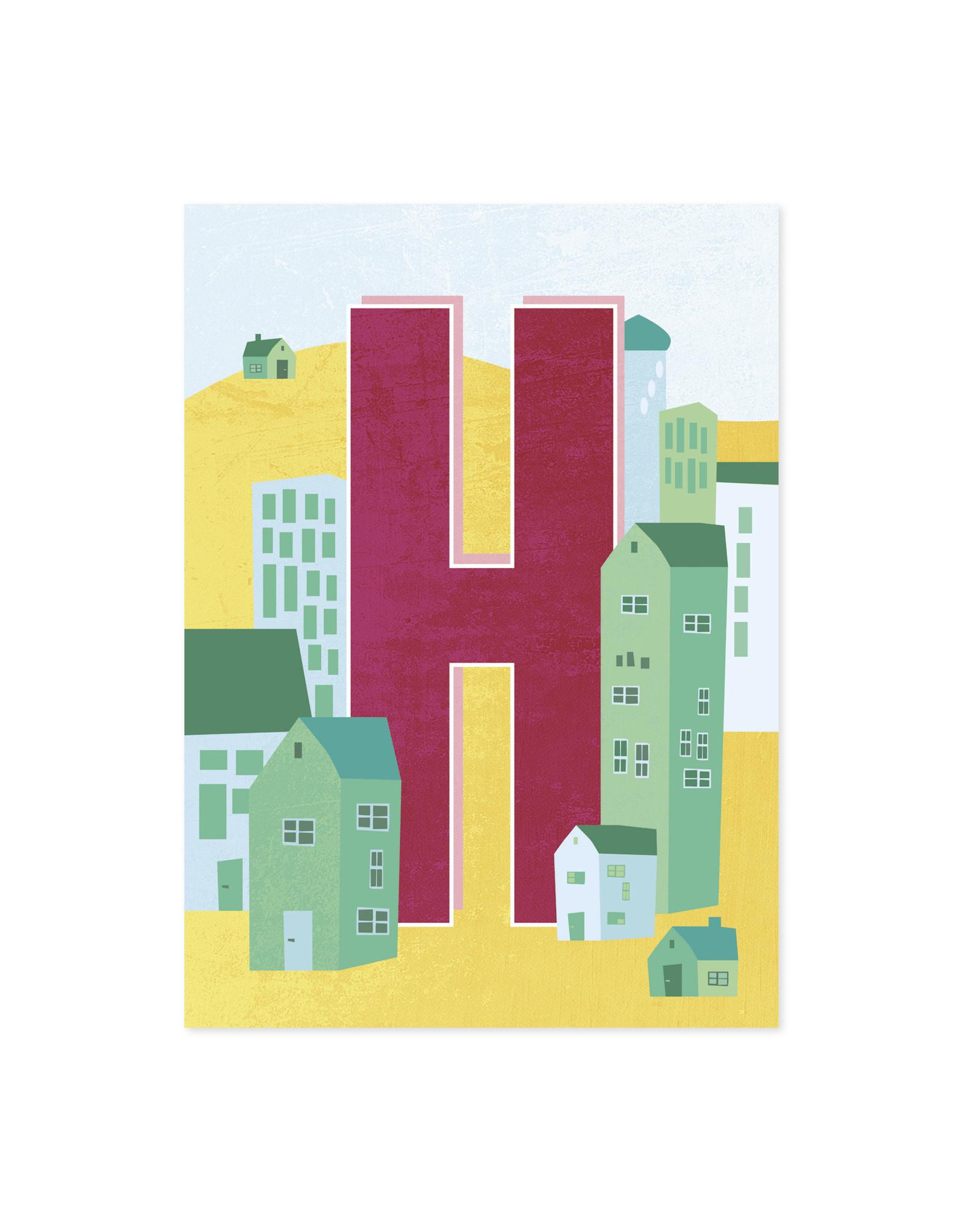Monimari Letter H