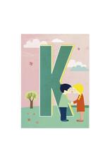 Monimari Letter K