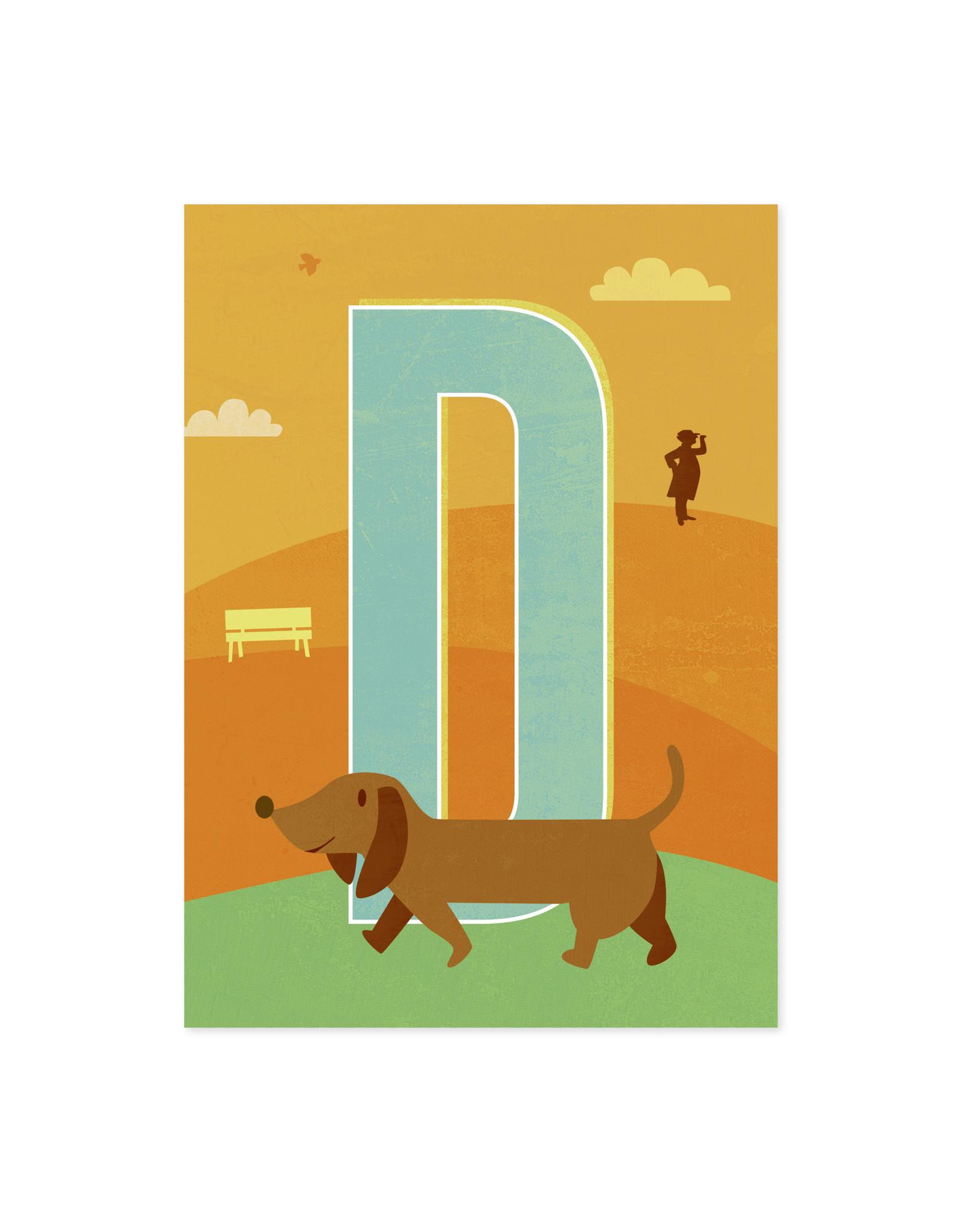 Monimari Letter D