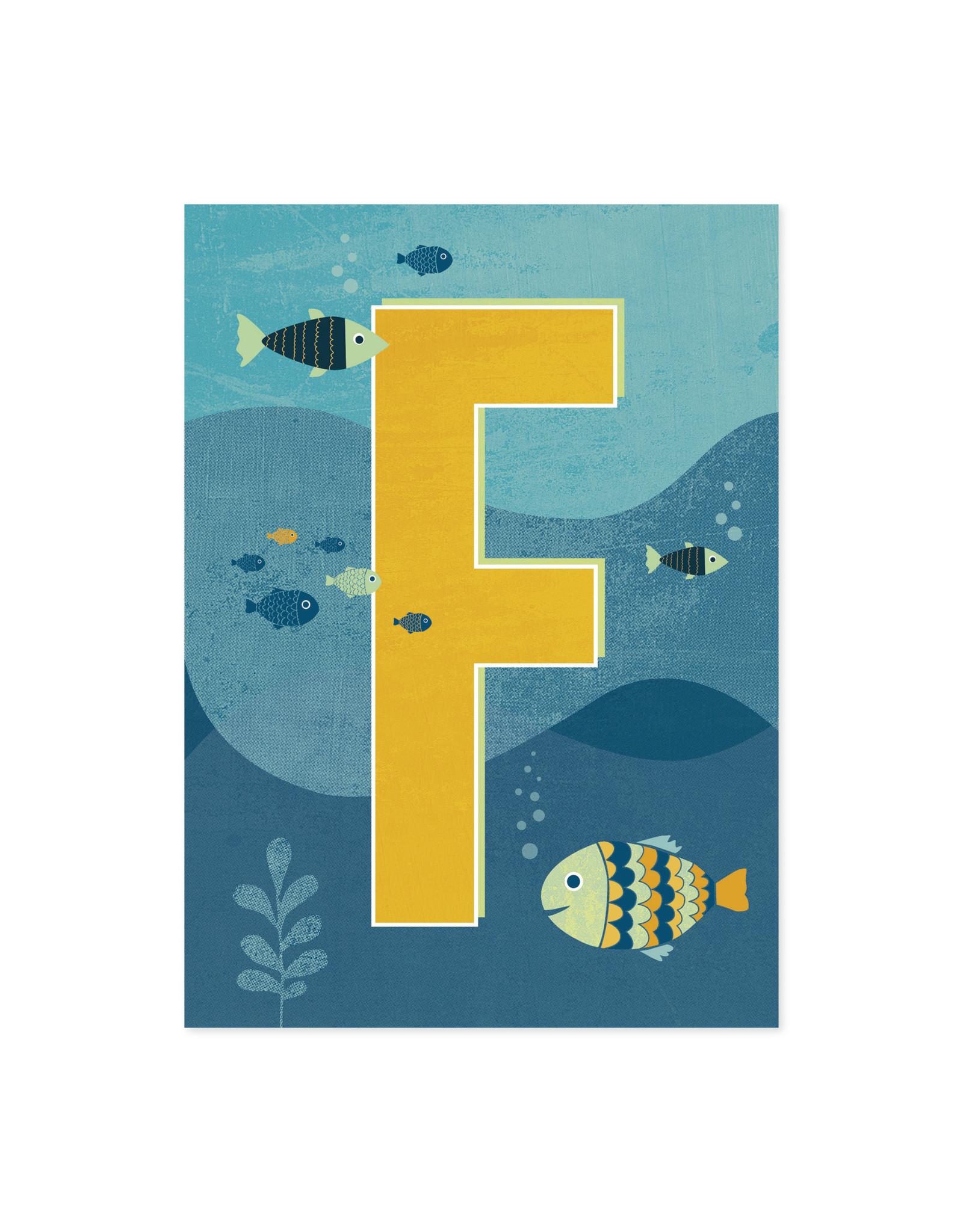 Monimari Letter f