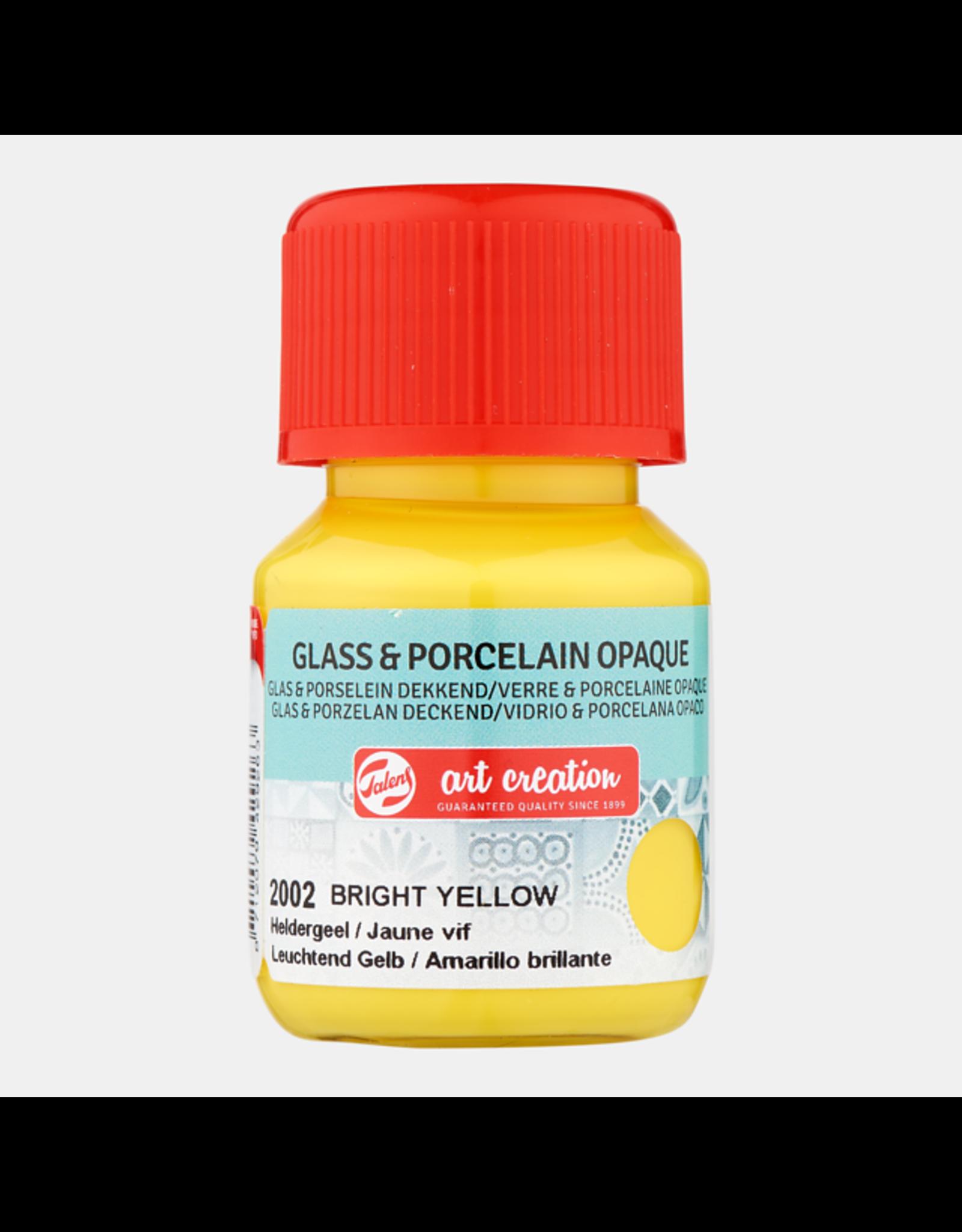 Art creation Heldergeel  - Glass & Porcelain Opaque - 30 ml