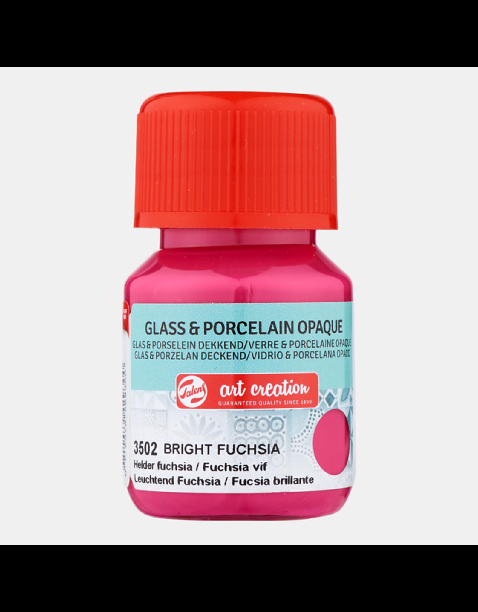 Art creation Helder fuchsia - Glass & Porcelain Opaque - 30 ml