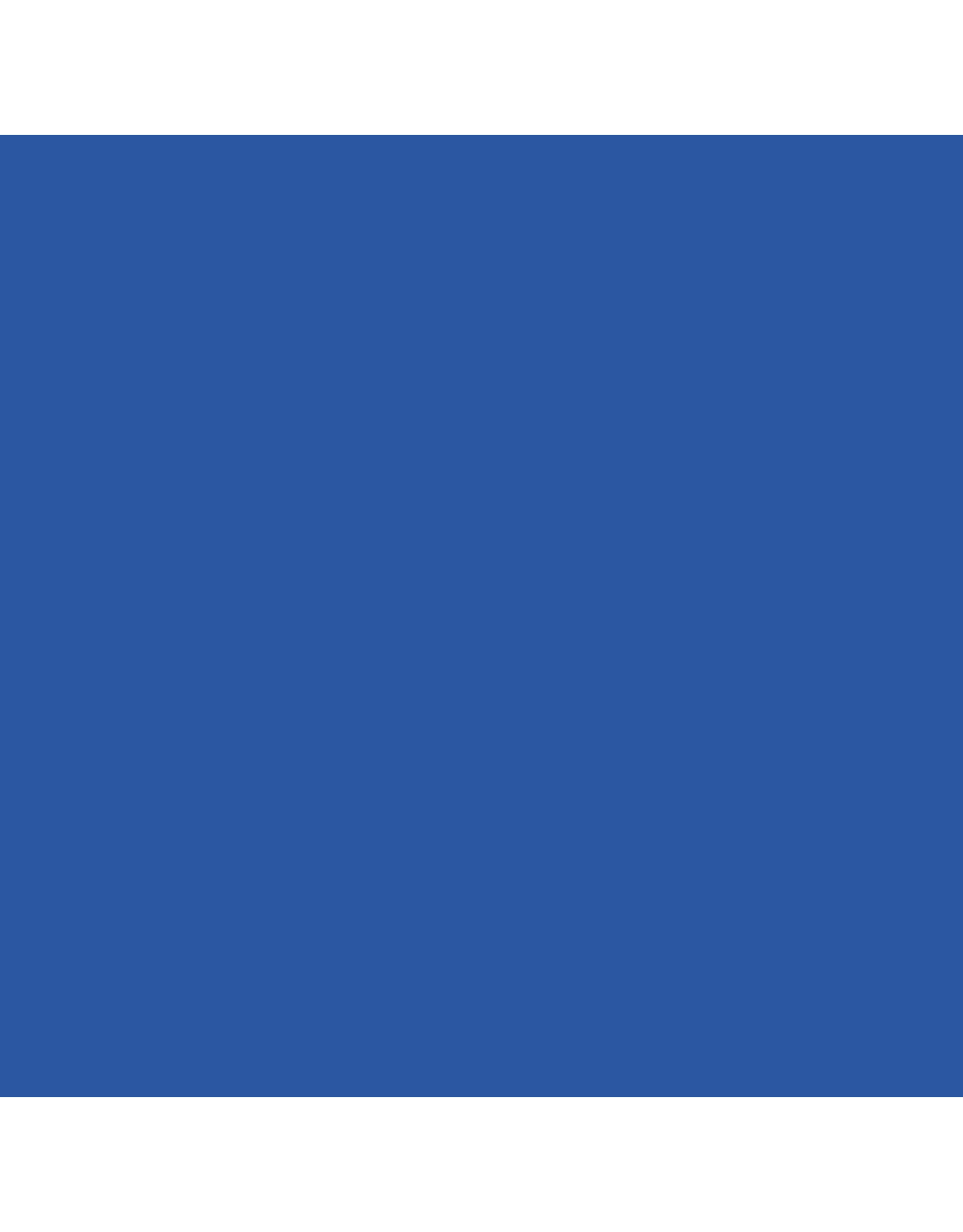Art creation Koninklijk blauw - Glass & Porcelain Transparent - 30 ml