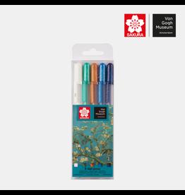 Sakura Sakura x Van Gogh Museum Gelly Roll pennen
