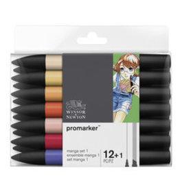 Winsor & Newton Promarker manga set 1