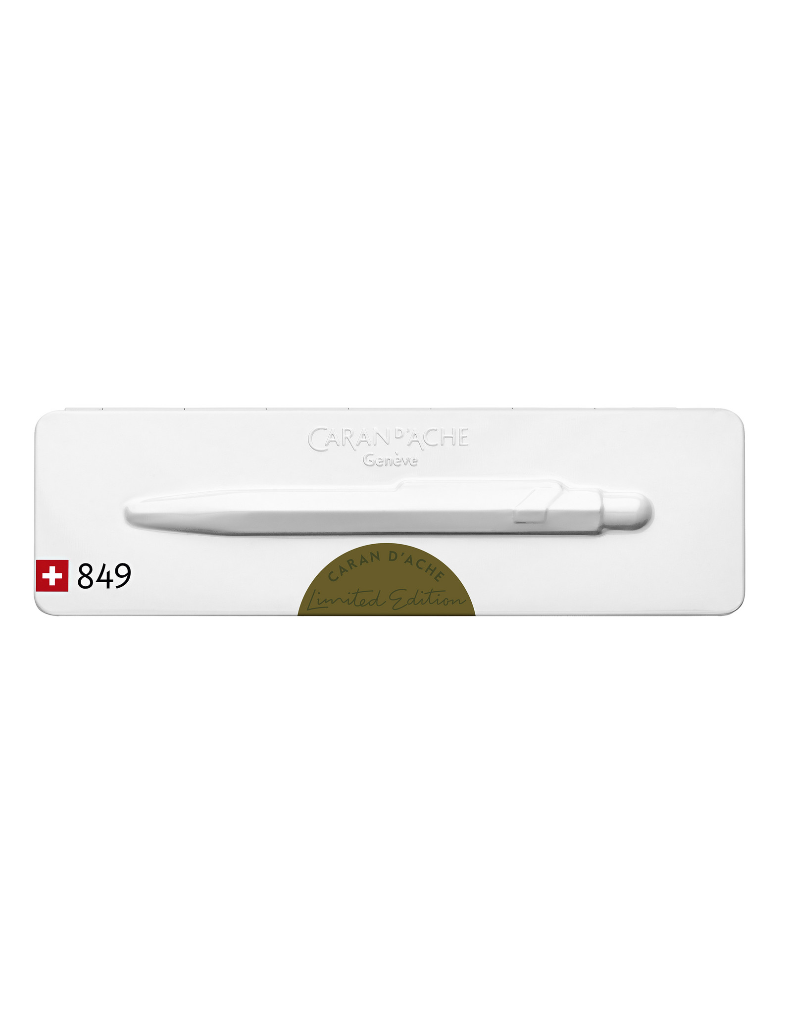 Caran d'Ache 849 Claim your style 2021 moss green