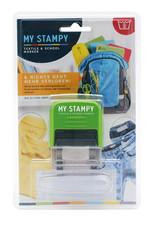 My stampie - Textiel en school marker