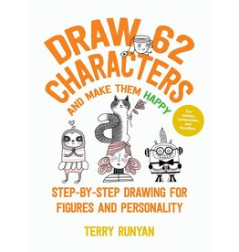 Draw 62 characters and make them happy