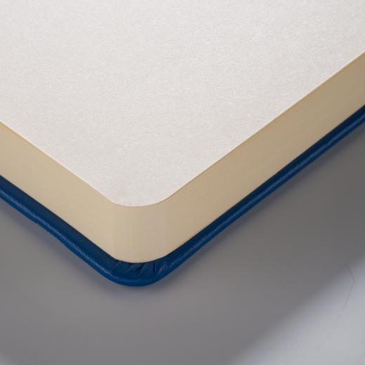 Sketch book navy blue 12x12cm