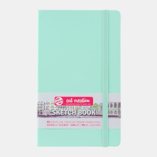 Sketch book fresh mint 13x21cm