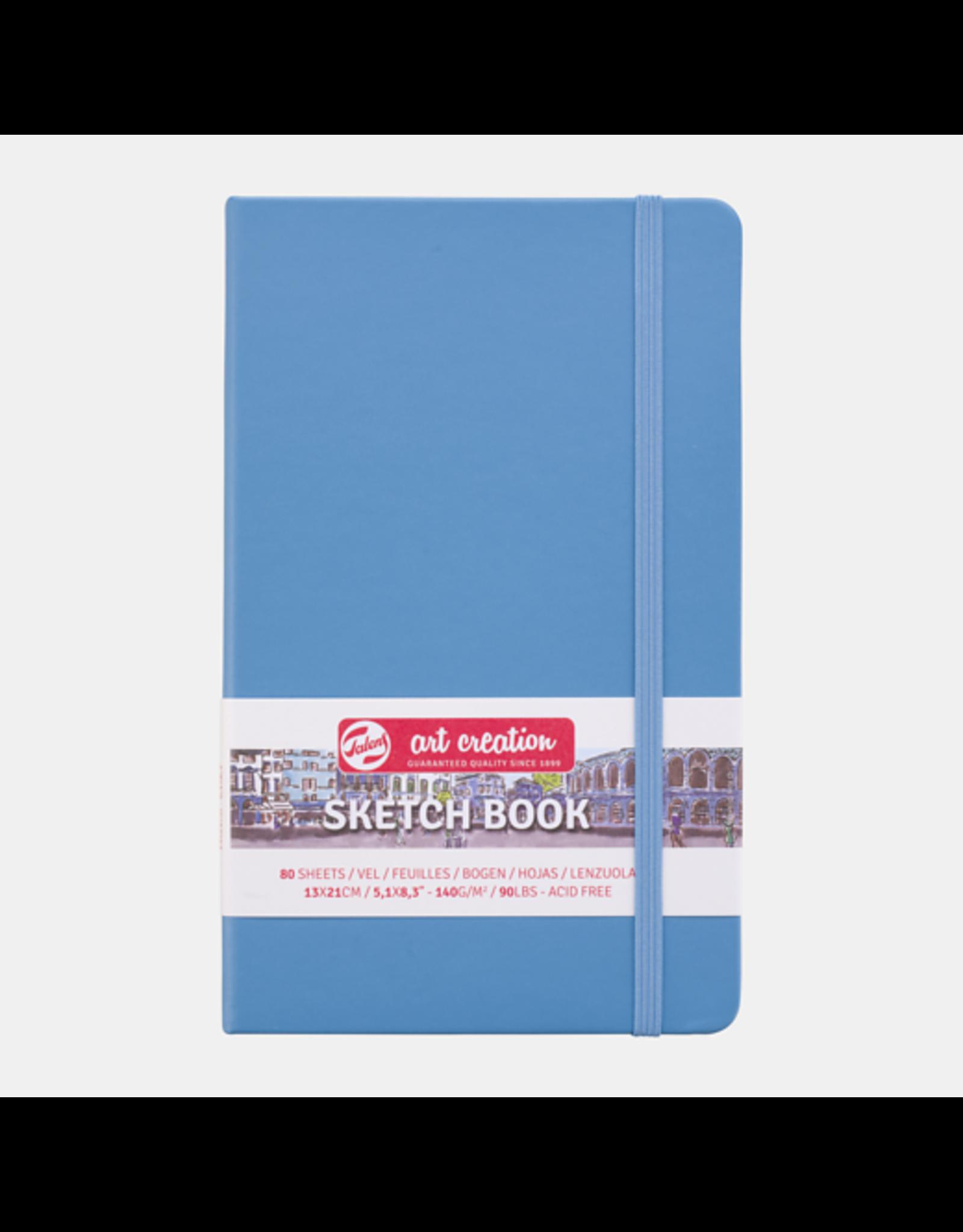 Sketch book lake blue 13x21cm
