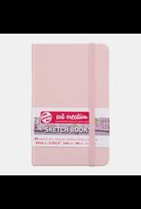 Sketch book pastel pink 13x21cm