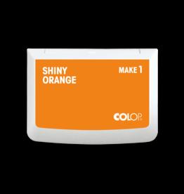 Stempelkussen shiny orange