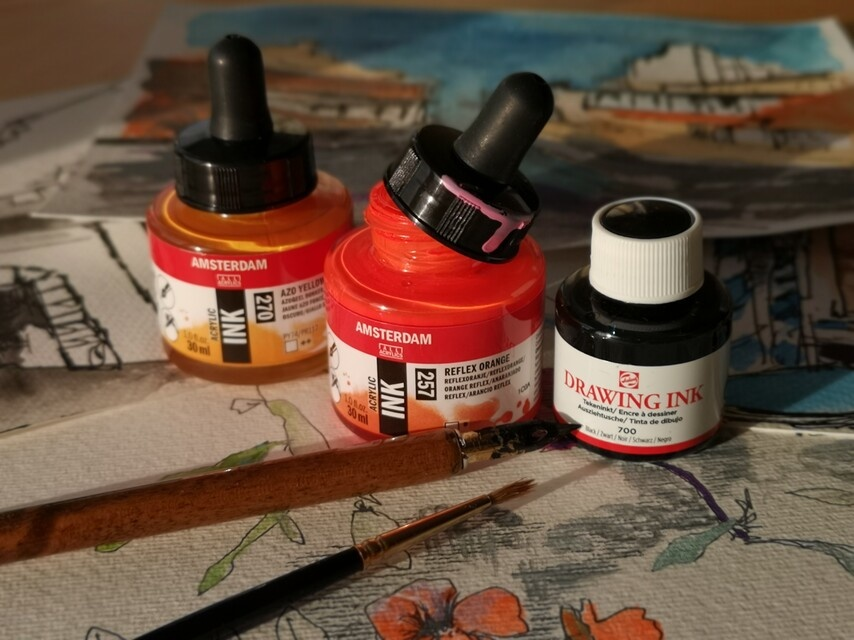 Acryl inkt 30ml