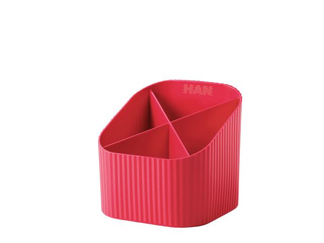 Pennenkoker rood