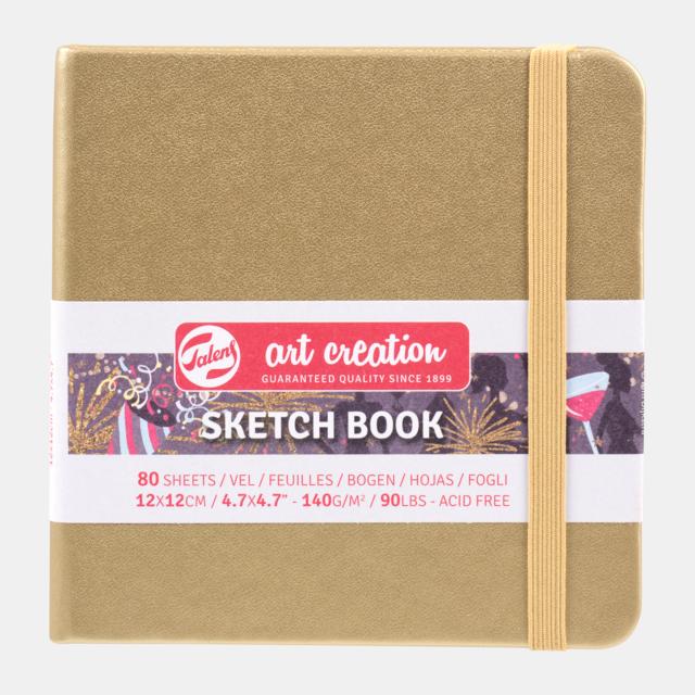 Sketch book kraft 12x12cm