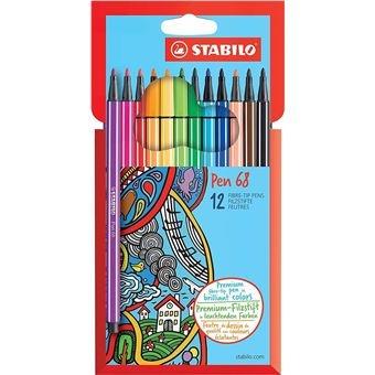 Stabilo Stabilo pen 68 set 12