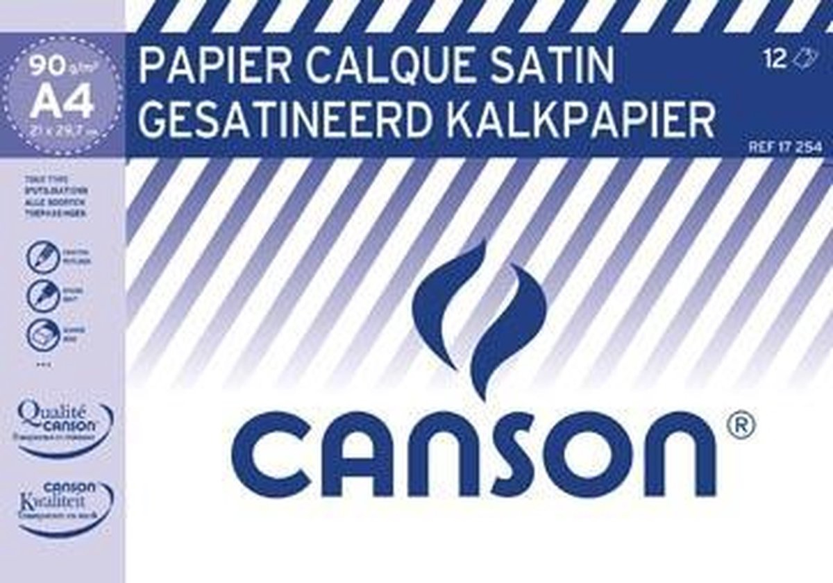 canson Canson kalkpapier map A4