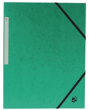 3 kleppenmap A4 groen