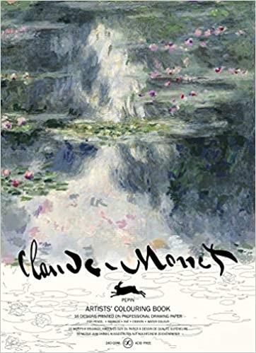 kleurboek - Claude monet