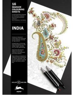kleurboek - india