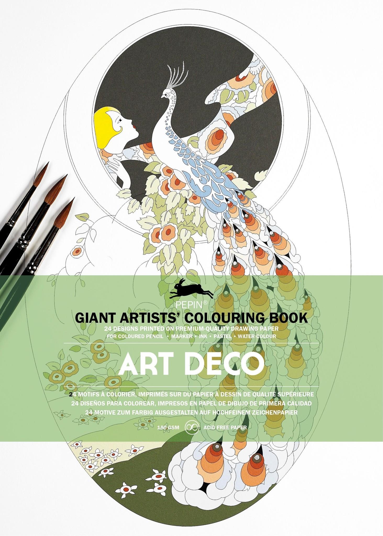 kleurboek - Art deco