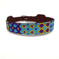 Collar darkblue - XL