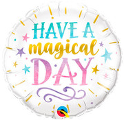 Qualatex Heliumballon Have a Magical Day