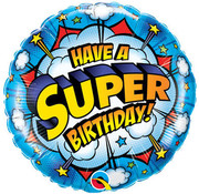 Qualatex Heliumballon Have a Super Birthday