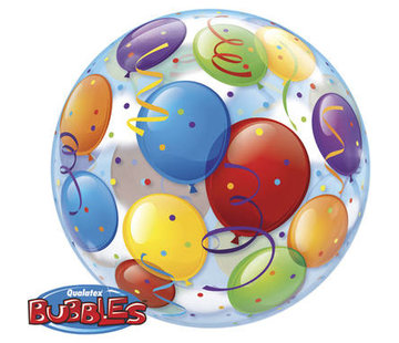 Qualatex Heliumballon Bubbles Balloons
