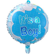 Qualatex Heliumballon It's a Boy Clouds