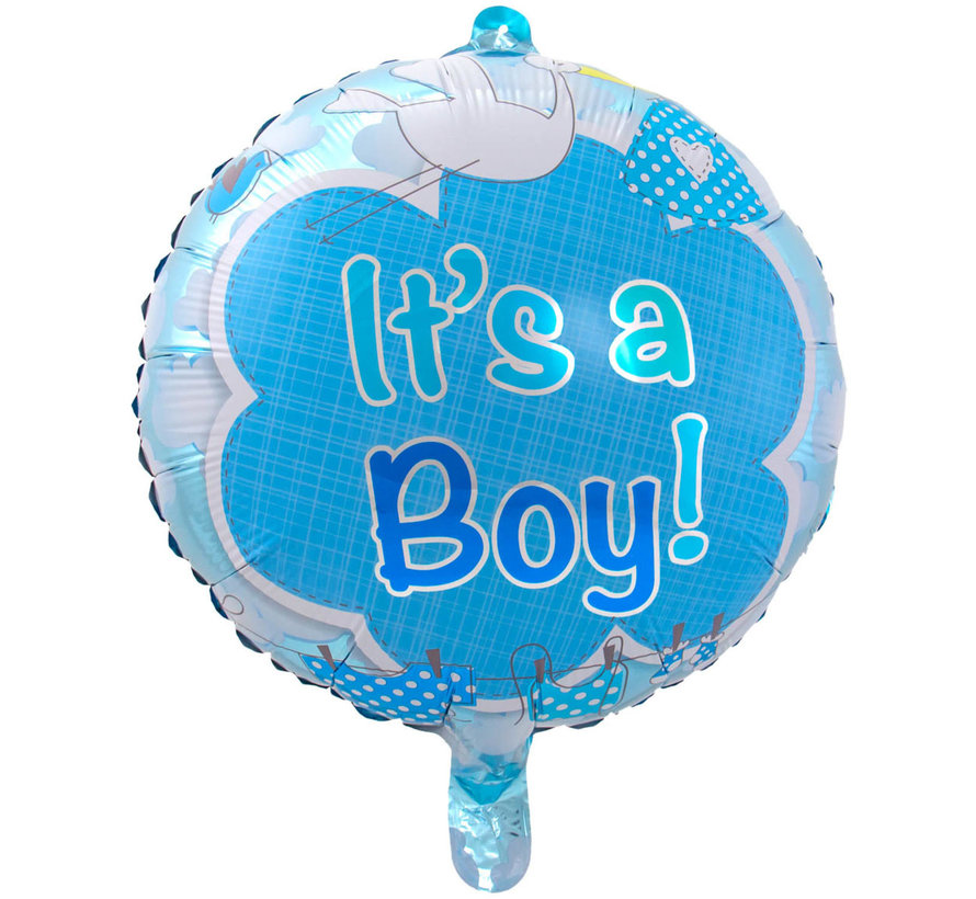 Heliumballon It's a Boy Clouds