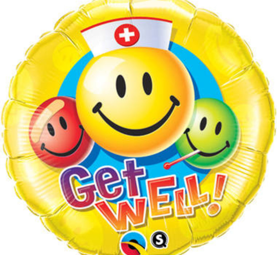 Heliumballon Get Well Emoticons