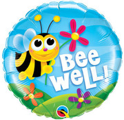 Qualatex Heliumballon Bee Well !