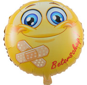 Folatex Ballonnen Heliumballon Beterschap Smiley