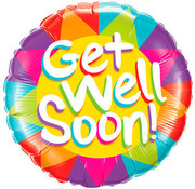 Qualatex Heliumballon Get Well Soon