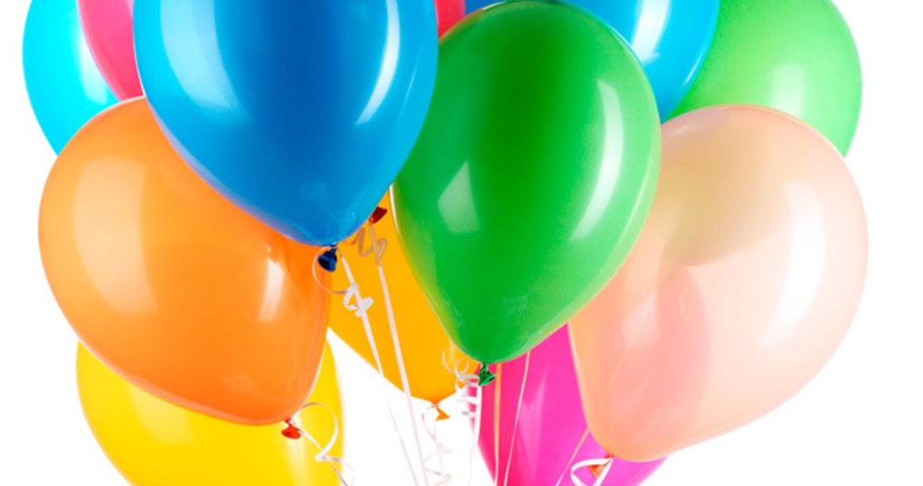 Ballonnen in alle kleuren en maten