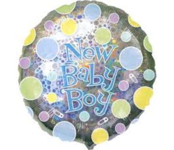 Anagram Heliumballon New Baby Boy