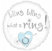 Anagram Heliumballon Bling What a Ring