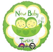 Anagram Heliumballon New Baby Twins