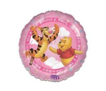 Anagram Heliumballon Winnie the Poeh It's a Girl