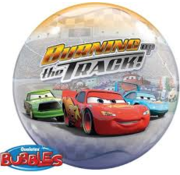 Qualatex Heliumballon Bubbles Cars Lightning McQueen