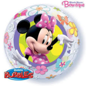 Qualatex Heliumballon Bubbles Minnie Mouse