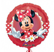Anagram Heliumballon Minnie Mouse rood wit
