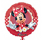 Heliumballon Minnie Mouse rood wit