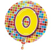 Qualatex Heliumballon Birthday Blocks 0
