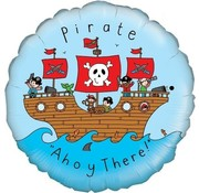 Qualatex Heliumballon Pirate ''Ahoy There!''