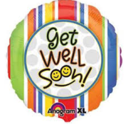 Anagram Heliumballon Get Well Soon Gestreept